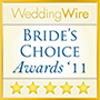 2011 WeddingWire Brides Choice Award