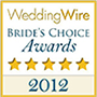 2012 WeddingWire Brides Choice Award