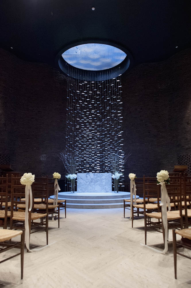 Ceremony At The MIT Chapel